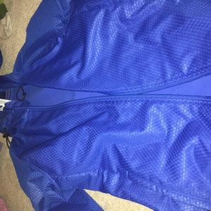 adidas fleece raincoat